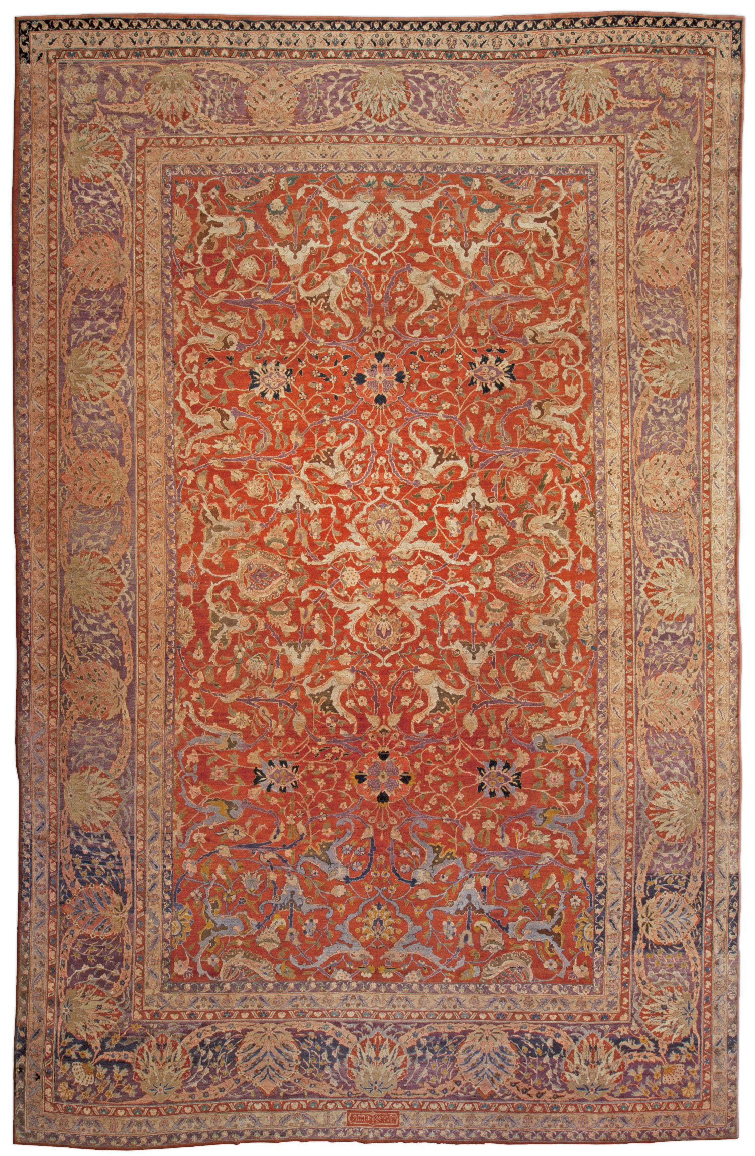 Red Plus Persian Rugs Equals… Love 17