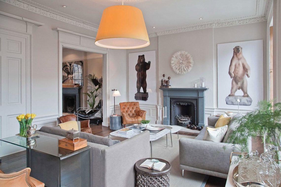 juan-carretero glamour elegant interior living room art