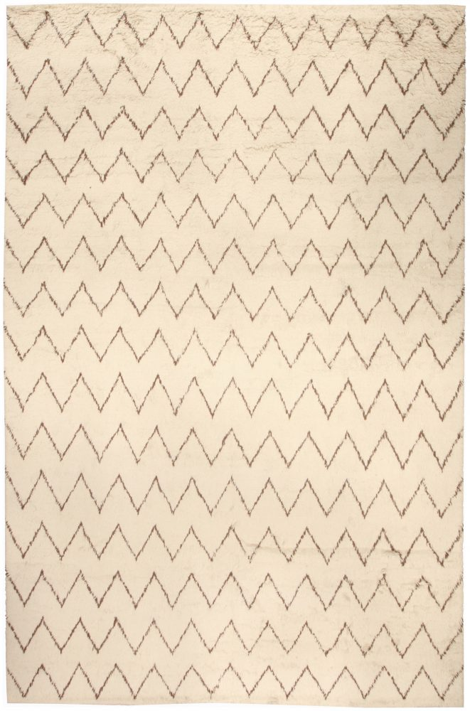 white beige Moroccan rug