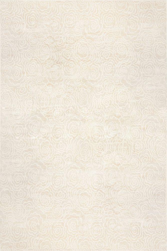 CAMELLIA DESIGNED CONTEMPORARY RUG BY DORIS LESLIE BLAU