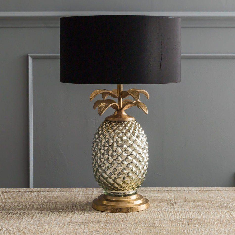 hollywood regency pineapple lamp, elegant interior decor, glamor interior
