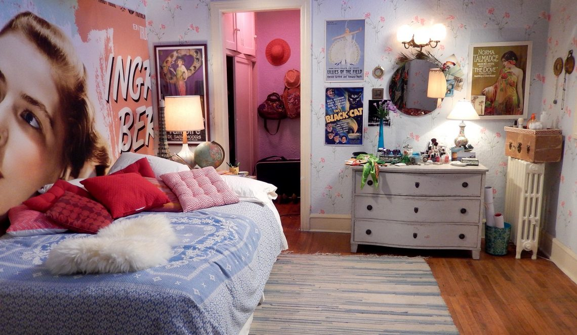 la la land movie set mia's bedroom retro interior decor