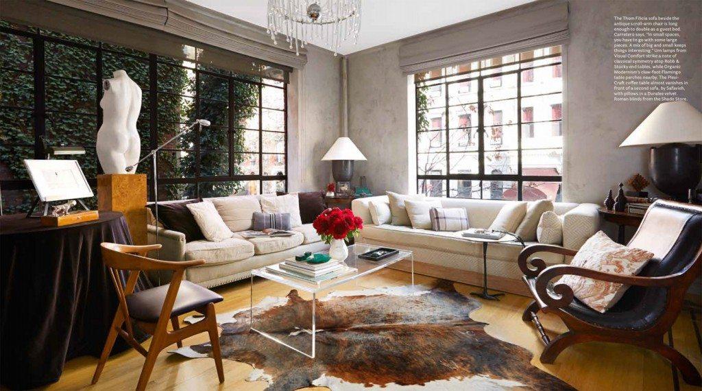 glamour elegant interior living room art