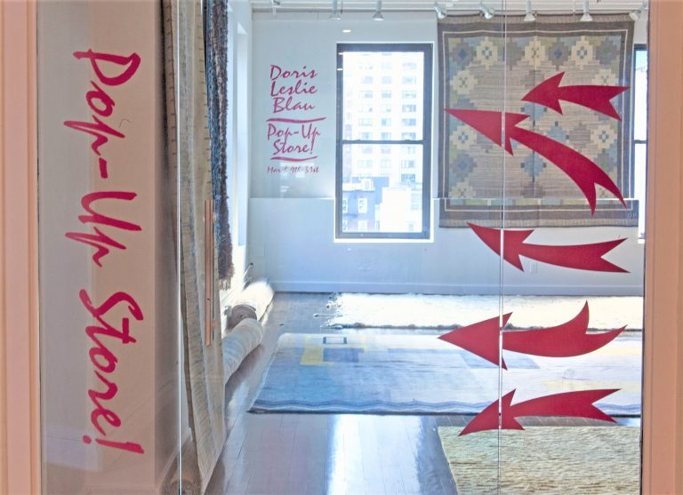 The First Pop-up Store of Doris Leslie Blau Opens this Sunday