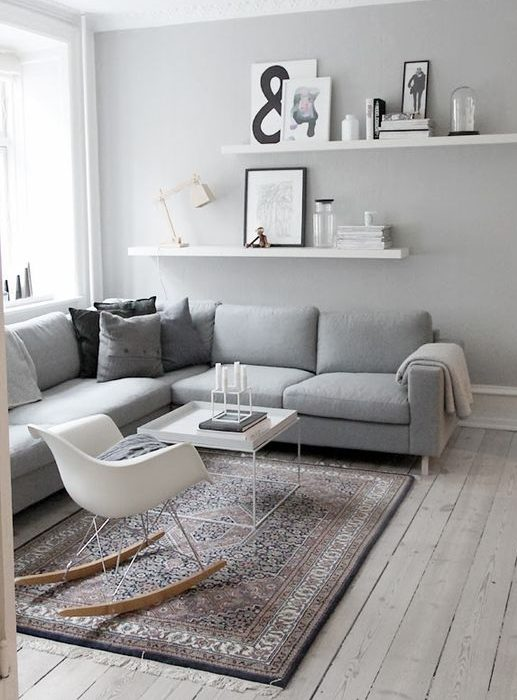 Rugs that go hand in hand with a grey sofa 3
