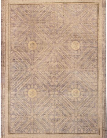 Samarkand Rug in Blue and Gold Shades N11778