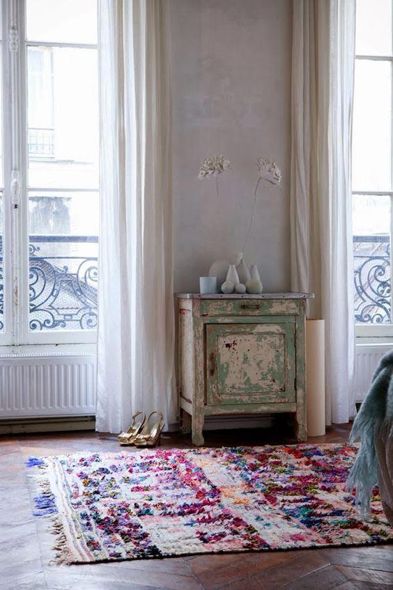 Interior Trend Alert: Boucherouite Rugs 33
