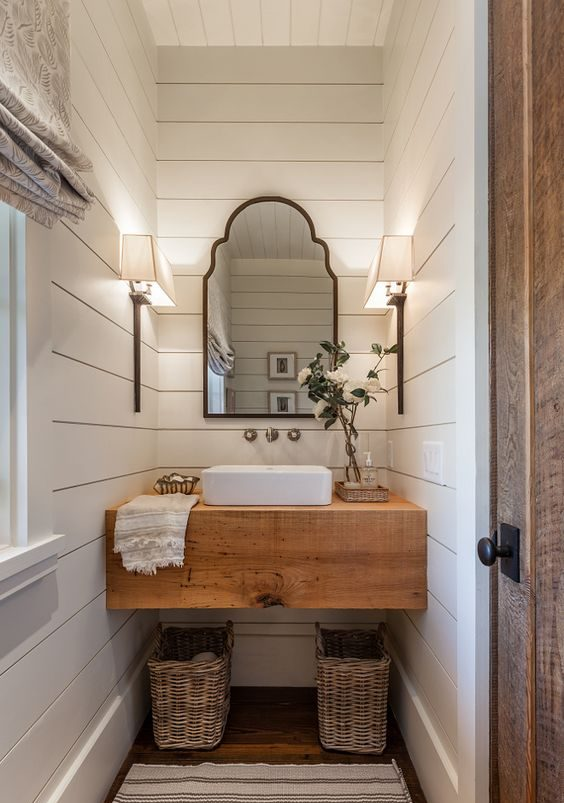 5 Easy Ways To Style a Modern Farmhouse Bathroom 15