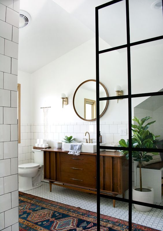 5 Easy Ways To Style a Modern Farmhouse Bathroom 10