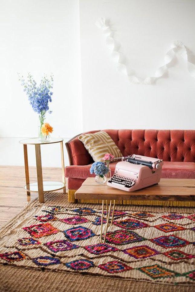 Interior Trend Alert Boucherouite Rugs For The Real Boho Vibe