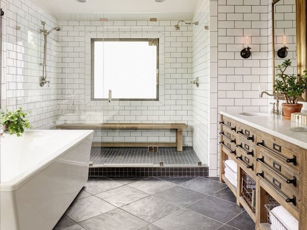 5 Easy Ways To Style a Modern Farmhouse Bathroom 19