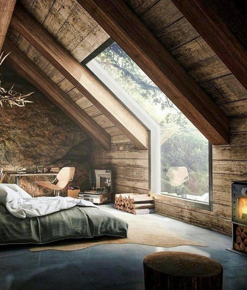 cottage hose modern farmhouse wooden interior