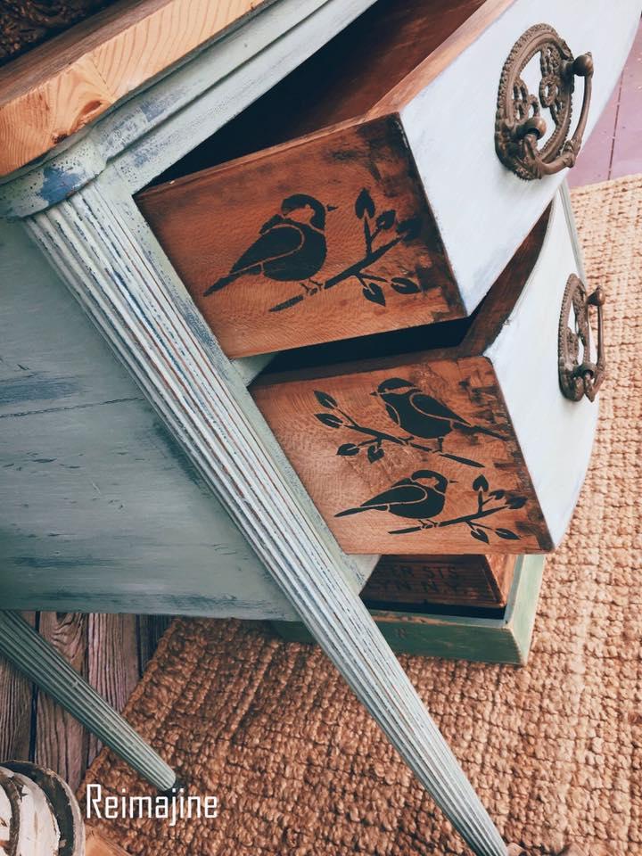 annie-sloan-chalk-painted-furtniture, home decor tricks
