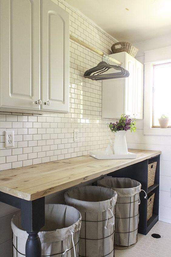 farmhouse kitchen, rustic kitchen storage