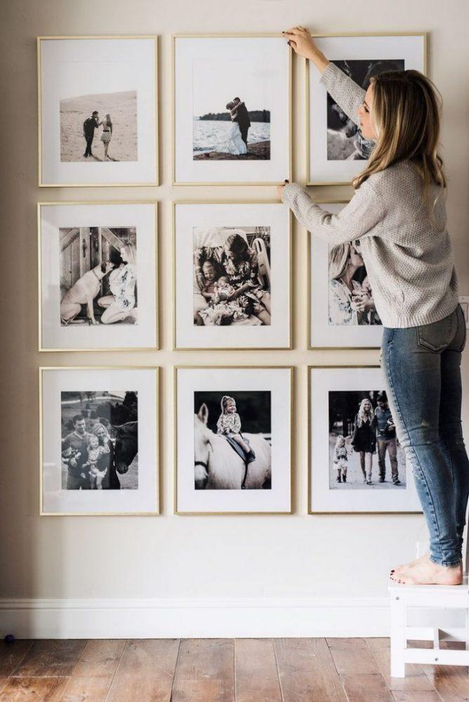 wall gallery living room, home decor tricks