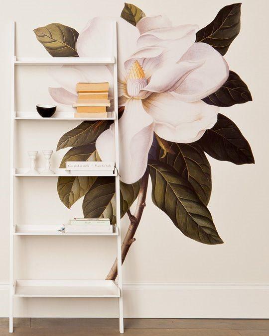 wall sticker floral wallpaper home decor trics