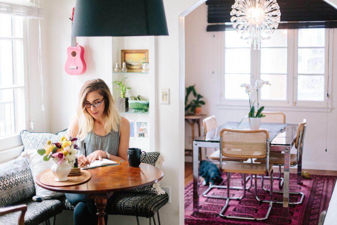 Recanto de jantar, recanto de café da manhã, decoração da sala de jantar