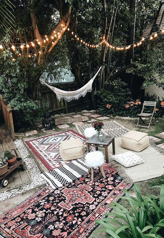 Top 5 Ideas for the Perfect Summer Outdoor Living Room on Bohemian Patio Ideas id=21889