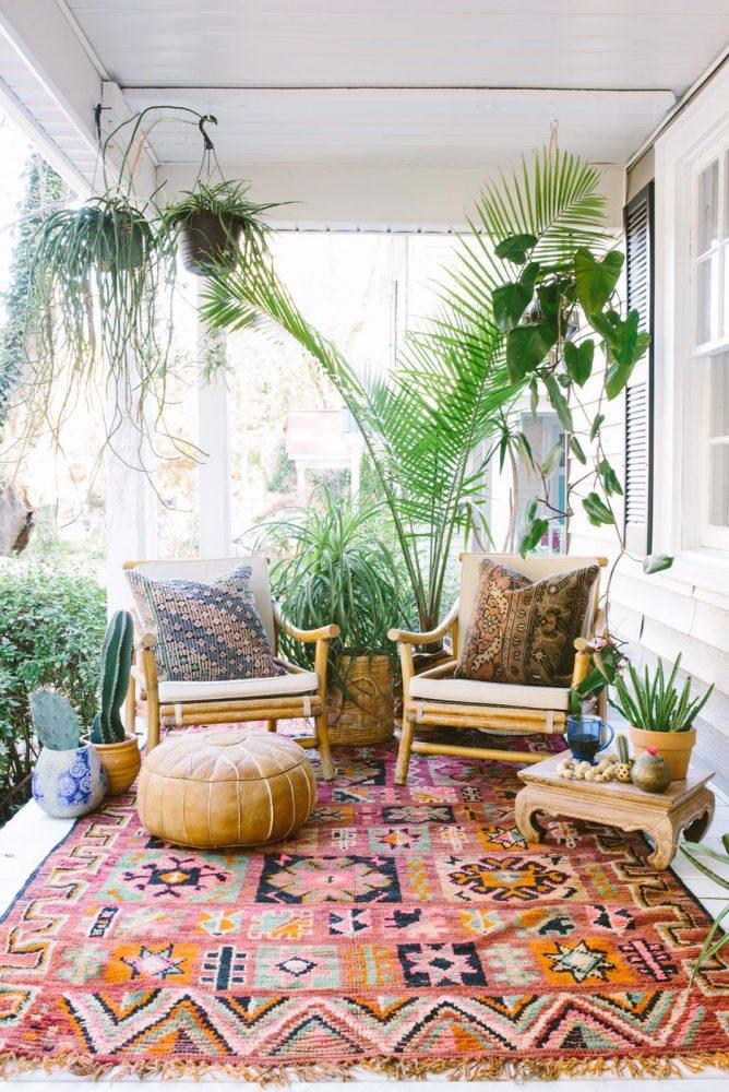 boho patio decor ideas, outdoor living decor
