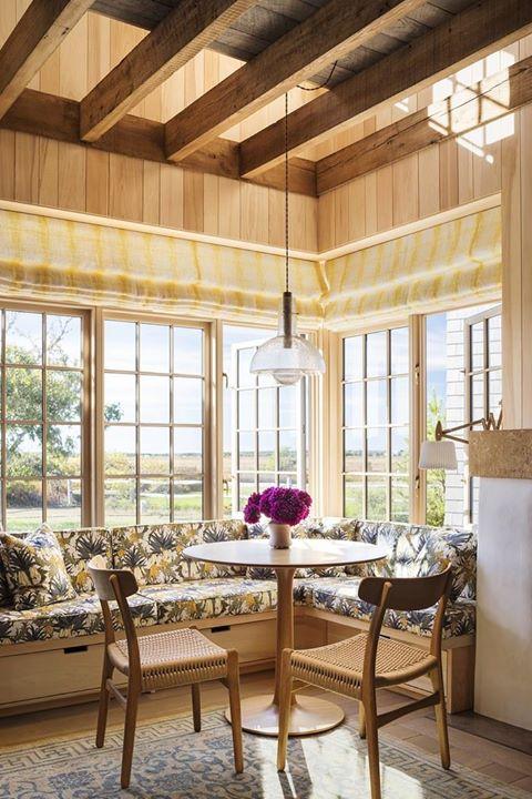 Recanto de jantar, recanto de café da manhã, decoração da sala de jantar, decoração vintage