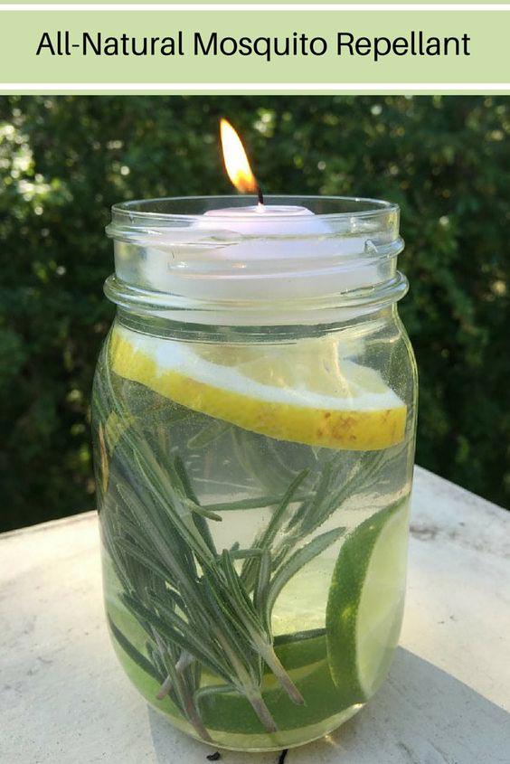 diy candle mosquito repellant