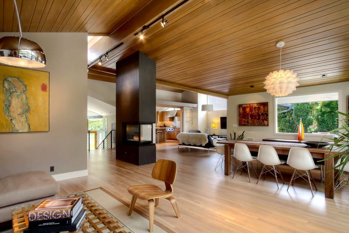 mid century modern interior decor ideas, mid century modern living room