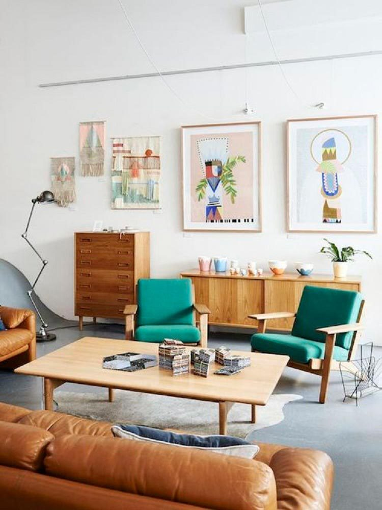 6 Decor Tricks to Introduce Mid-Century Modern Into Your Living Room