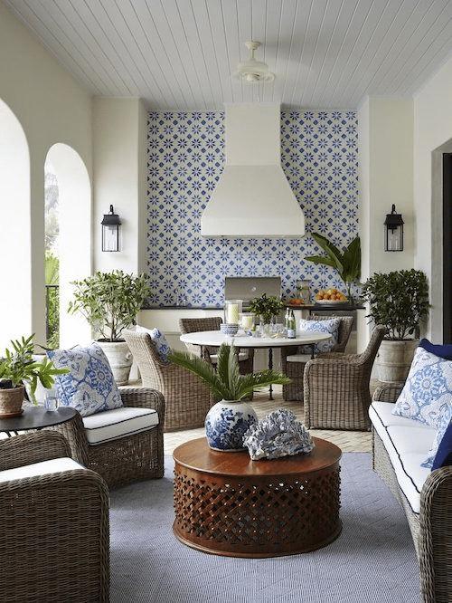 Moroccan patio decor ideas, outdoor living decor
