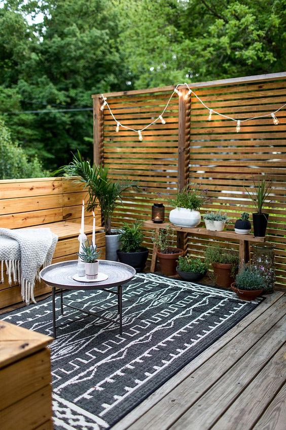Scandinavian patio decor ideas, outdoor living decor