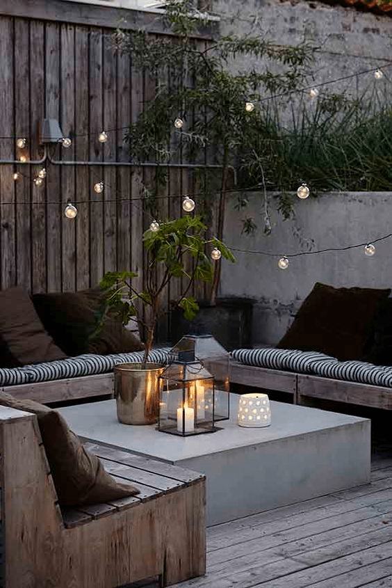 Top 5 Ideas for the Perfect Outdoor Patio - Living Room 1
