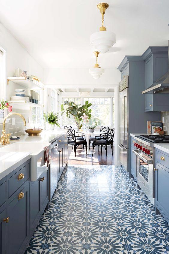 Top 10 Most Stylish 'Stardew' Blue Kitchens 1