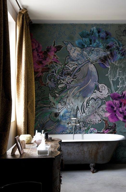 Decoración del victorian, cuarto de baño del victorian, diseño interior del victorian