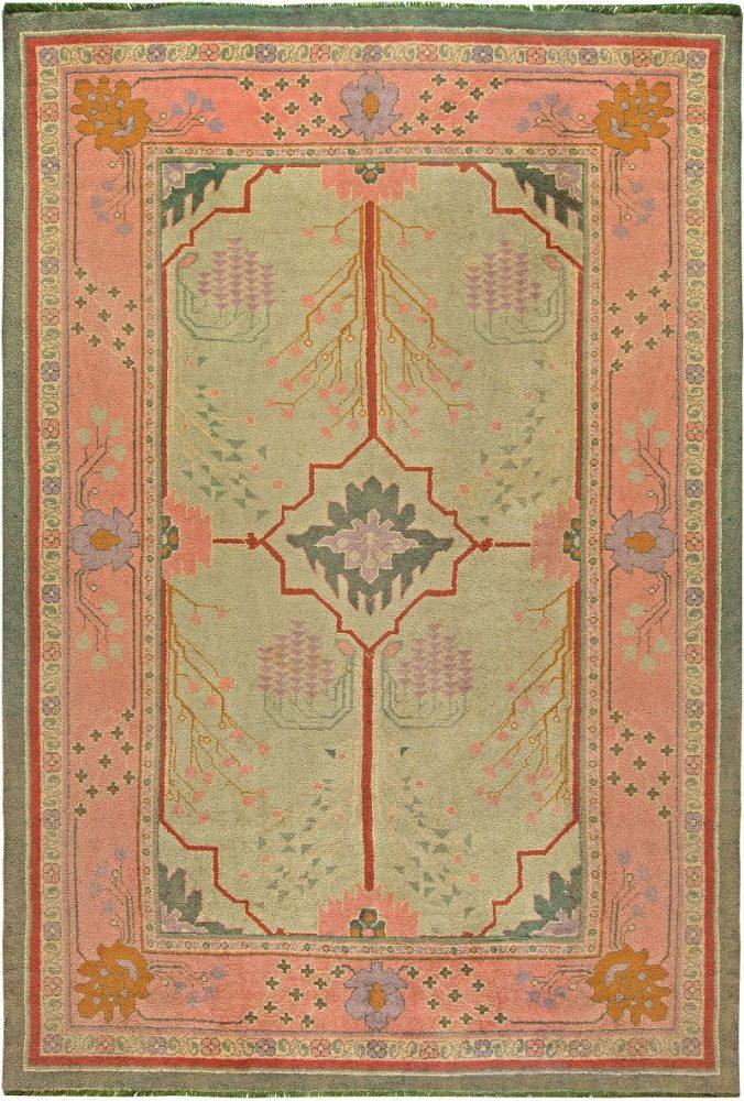 Alfombra vintage artes y oficios por doris leslie blau, decoración victoriana