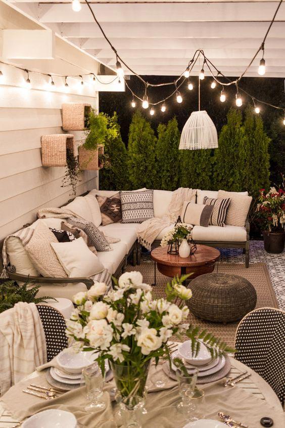 Porch Decorating Cozy Autumn Hygge Home