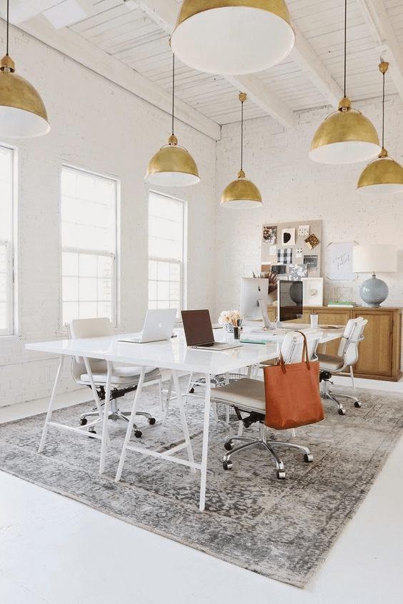 workspace decor, office design, office decor, home office (4)