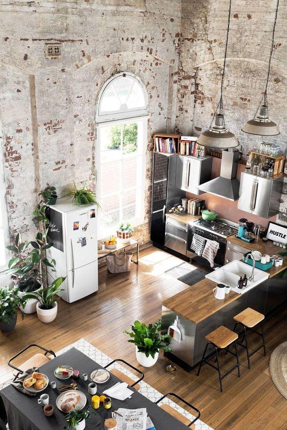 /wabi-sabi-industrial-interior-decor-brick-wall-loft