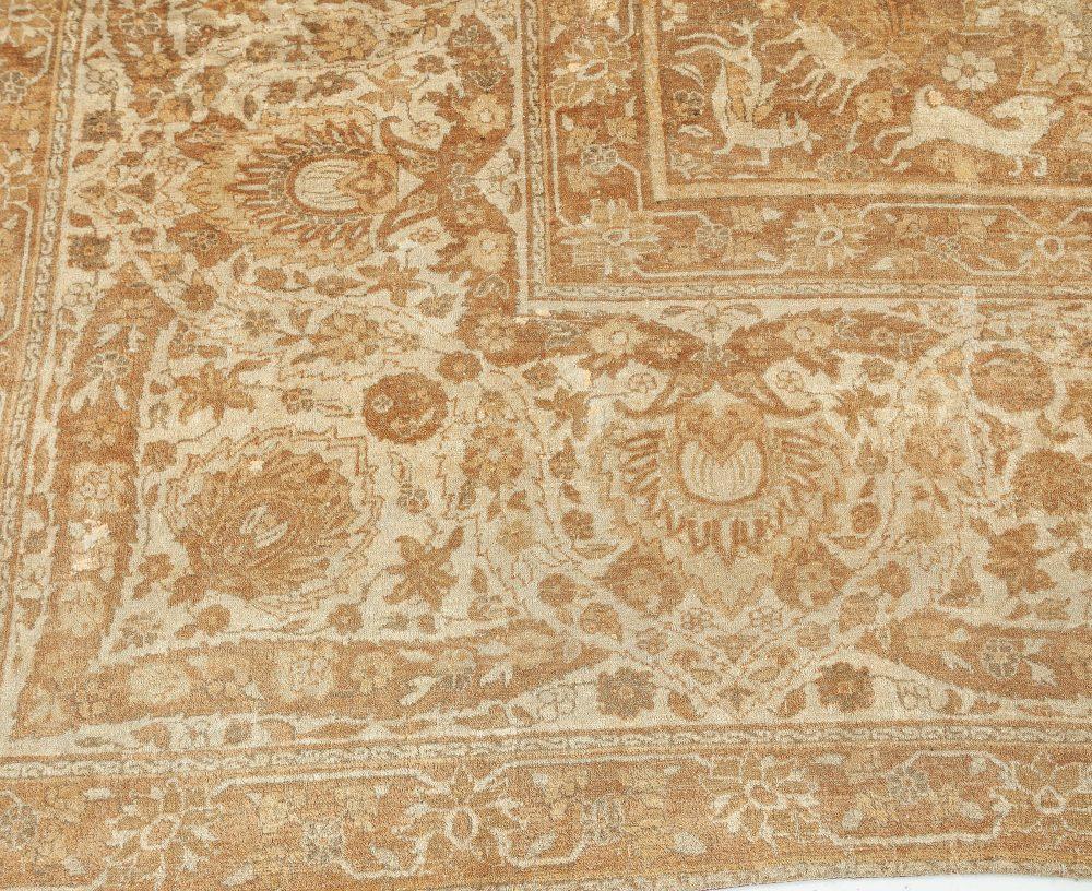 Oversized Vintage Indian Amritsar Rug BB7498