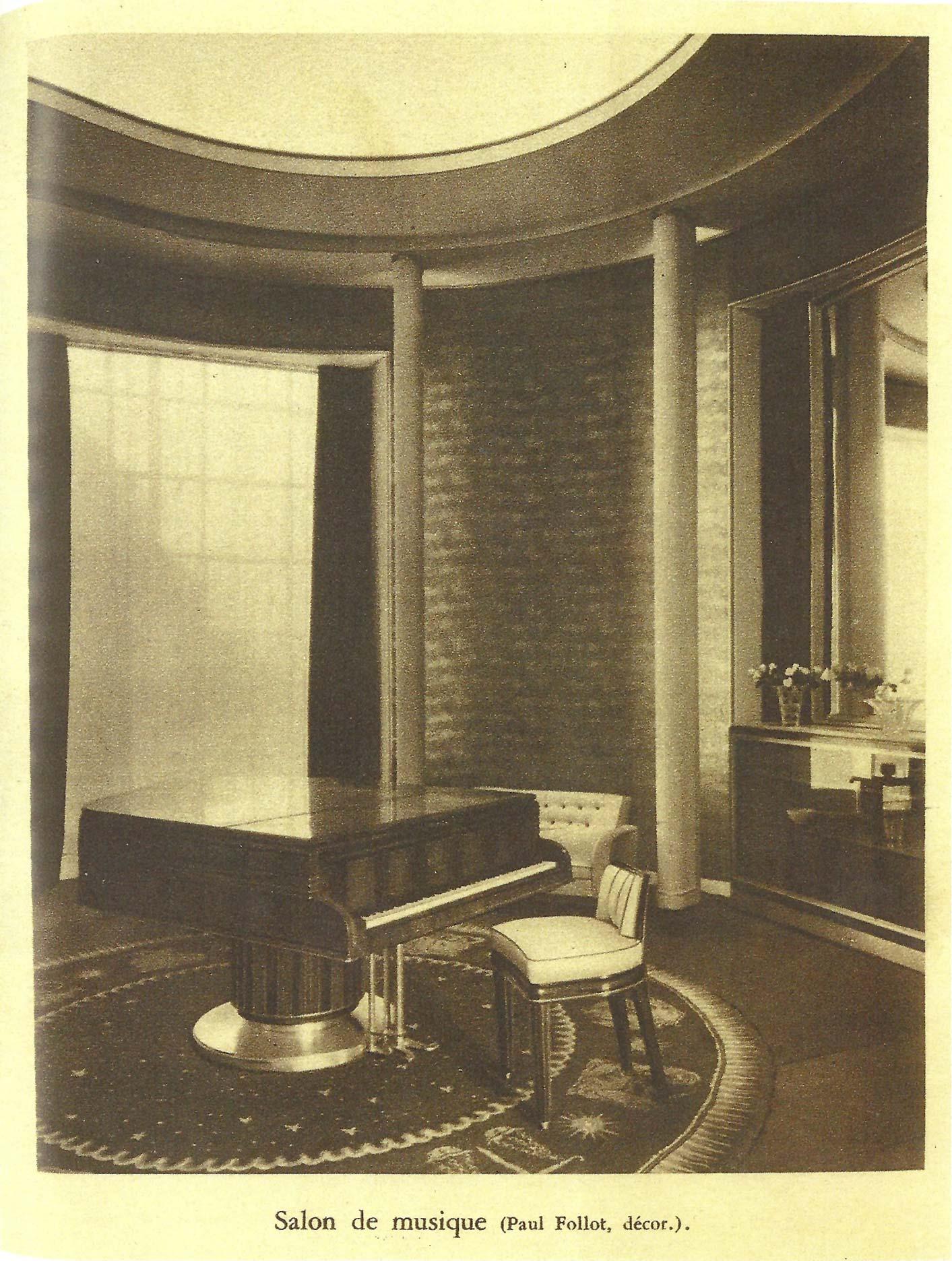 French Art Deco Circular Rug by Paul Follot BB6783