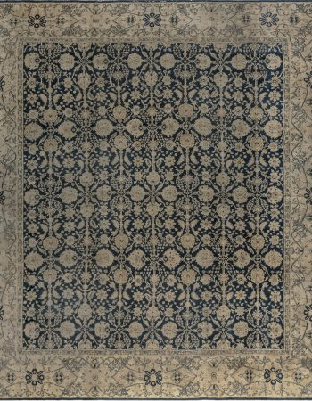 Oversized Antique Indian Agra Carpet BB7499