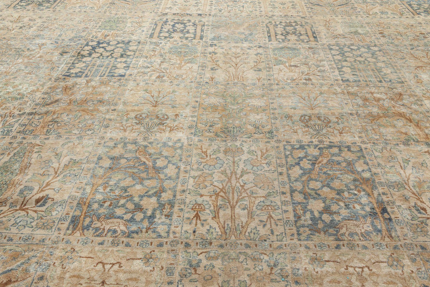 Antique Persian Kirman Carpet BB6709