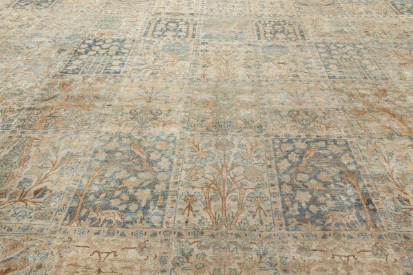 Antique Persian Kirman Teppich BB6709