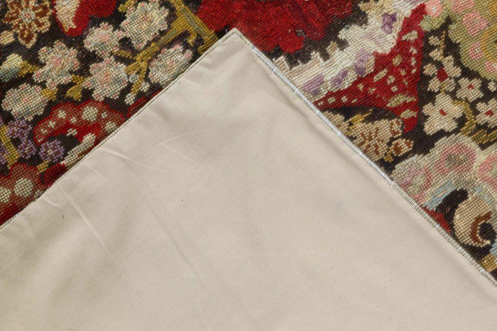 19th Century English Needlework Rug BB6645
