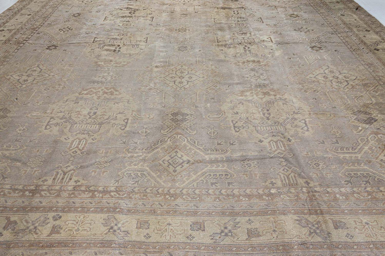 Antique Turkish Oushak Rug BB7183