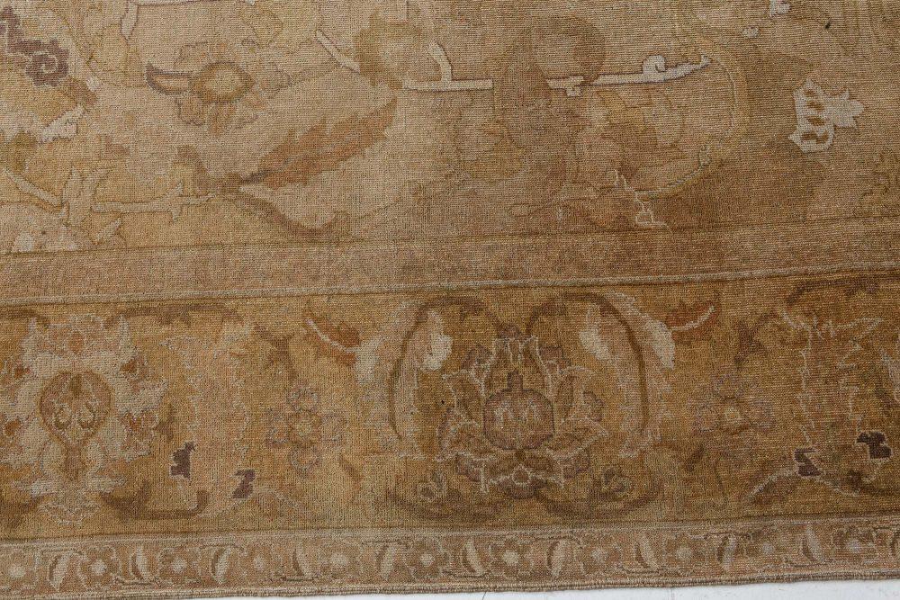 Oversized Antique Indian Amritsar Rug (Size Adjusted) BB7187