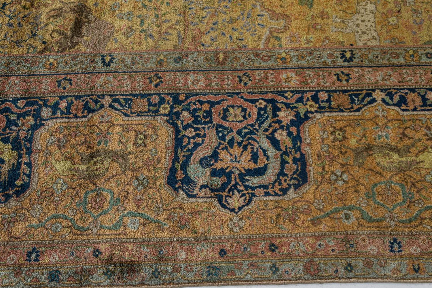 Oversized Antique Indian Rug BB7188