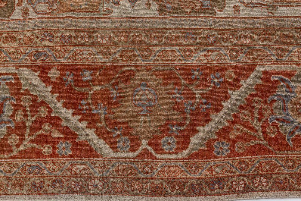 Antique Persian Sultanabad Rug BB7191