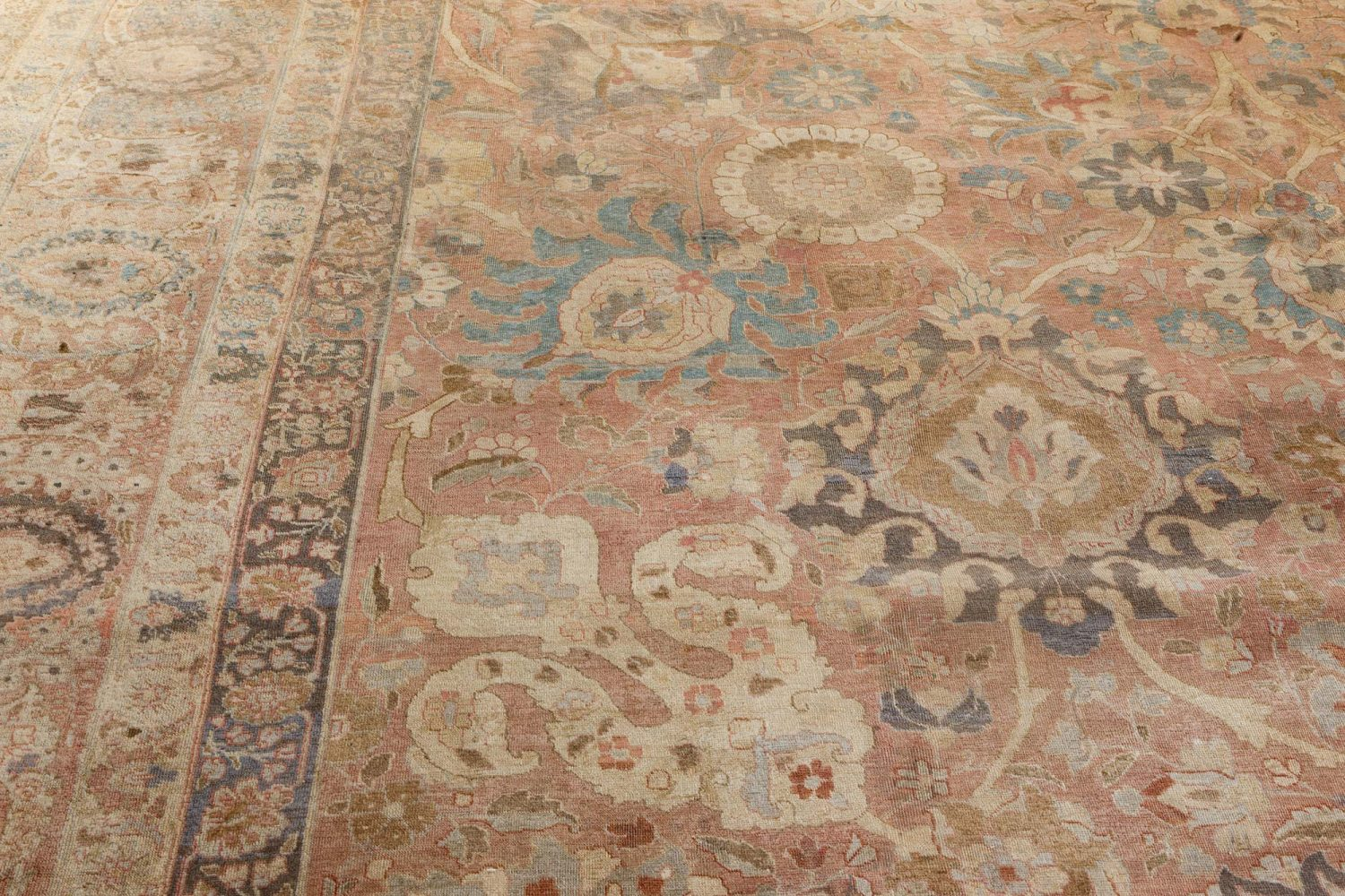 Antique Persian Tabriz BB7192