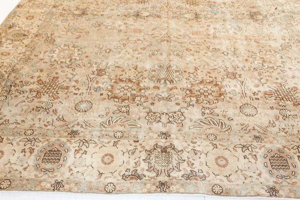 Antique Persian Tabriz Carpet BB7213