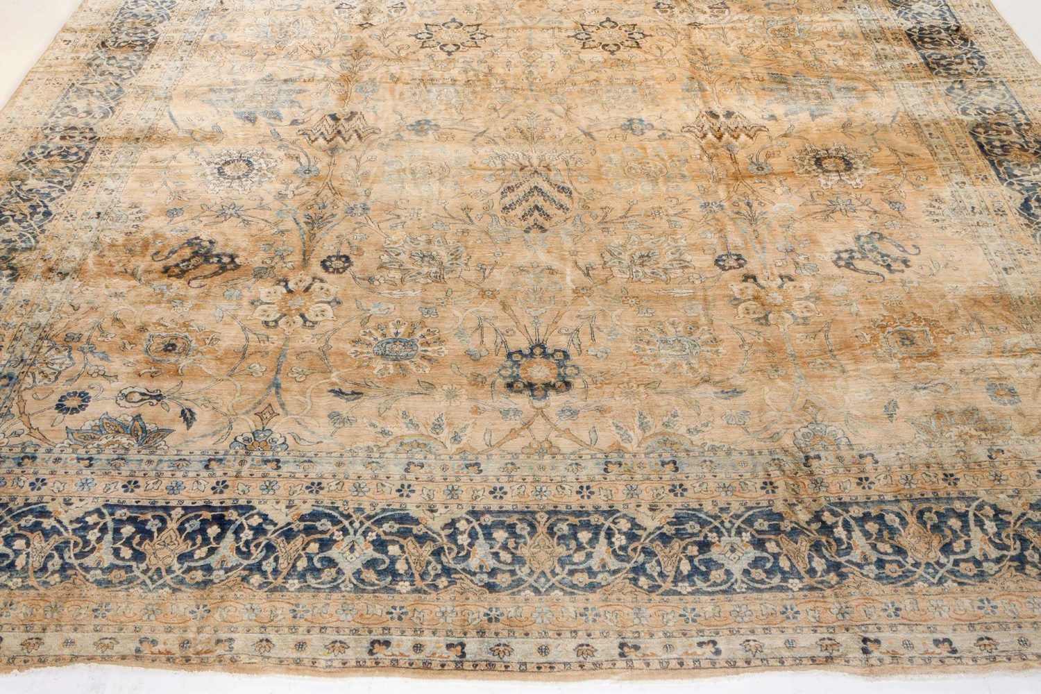 Large Antique Persian Kirman Rug BB7219