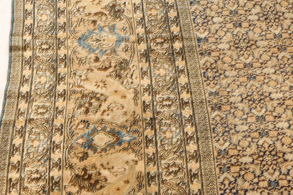 Antique Persian Meshad Rug BB7235